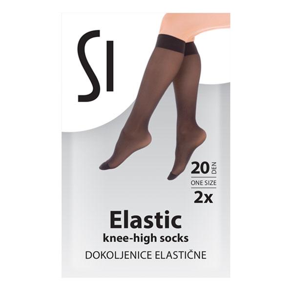 Elastic Knee High Socks